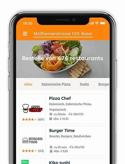 Eat Takeaway Essen Bestellen App Order