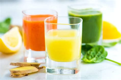 shots shot detox recipe juice ginger healthy drinks drink recipes power immune cold booster lemon boosting immunity juices apple slim
