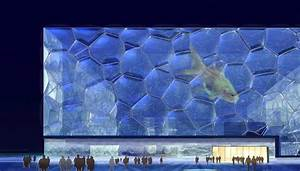 Light And Energy Games Watercube Beijing National Swimming Centre China E