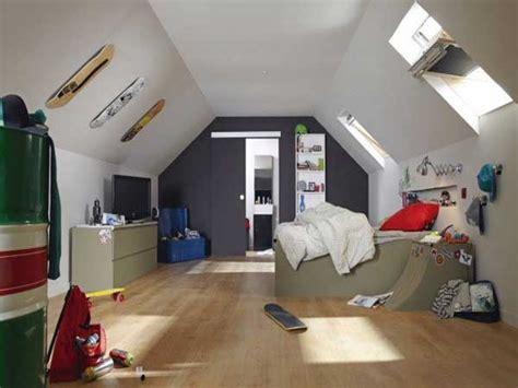 chambre ado couleur peinture peinture chambre ado sous pente couleurs blanche et grise