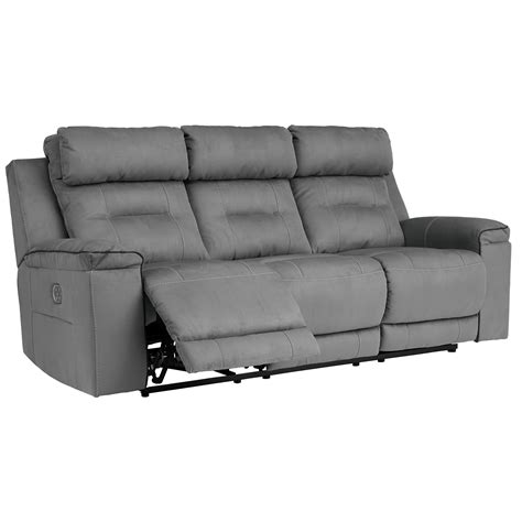 Contemporary Reclining Sofas by Trton Contemporary Power Reclining Sofa With Adjustable