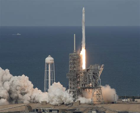 SpaceX launches 1st recycled supply ship to International ...