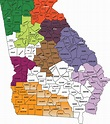 How Many Counties Are In Georgia | Examples and Forms