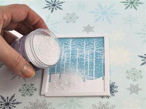 glitzer basteln ideen weihnachtskarten selber basteln und freunde und verwandte auf klassischem weg begr 252 223 en