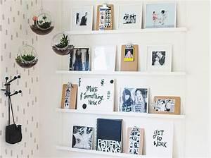 Etagere Cadre Photo : cadres livres tag res d co pinterest cadres ~ Teatrodelosmanantiales.com Idées de Décoration