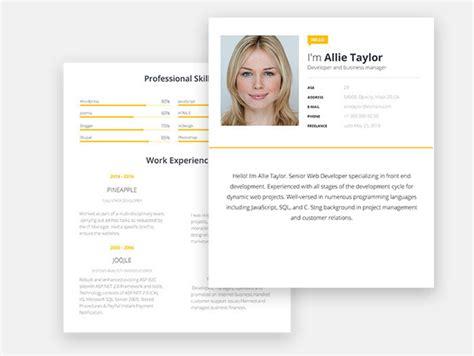 best resume designs 2017