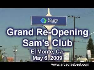Arcadia's Best: Sam's Club El Monte Grand Re-Opening May 6 ...