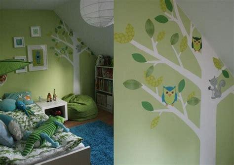 Kinderzimmer Junge Grün Streichen by Wandfarben Ideen Kinderzimmer Dachschr 228 Ge Junge