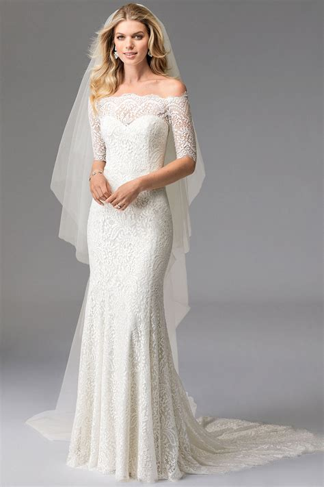 wedding dresses with sleeves bridal indulgence