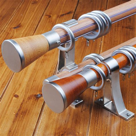 wooden curtain rod brackets home depot home design ideas