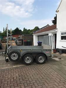 Ifor Williams Twin Axle Gd85 Trailer