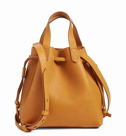 Handbags Tote Drawstring Styles Instyle Leather Madewell