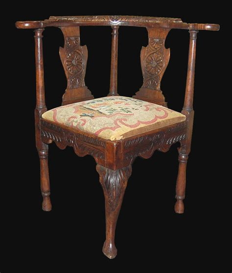 18th century corner chair for sale antiques