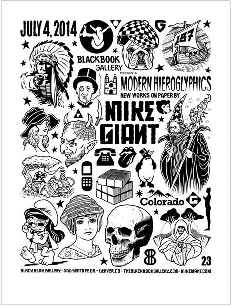 Mike Giant | Black Book Gallery | Tattoo Ideas | Tattoo drawings, Tattoo designs, Mike giant