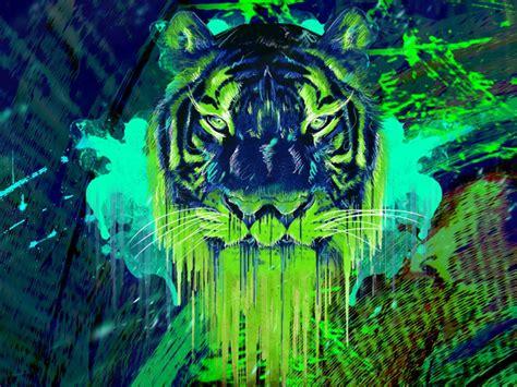 Green Animal Wallpaper - neon animals wallpapers wallpaper cave