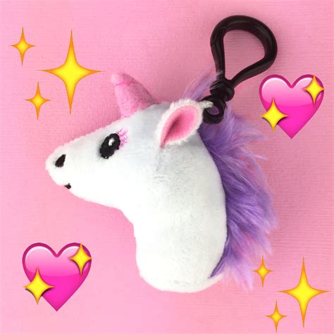 Ohio State Room Decor by Unicorn Plush Etsy Emoji Clip Keychain Accessories Kawaii