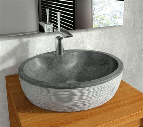 20 ideen f 252 r waschbecken aus naturstein archzine net