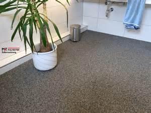 badezimmer stein steinteppich preis verlegen selber treppe erfahrungen m t polyester
