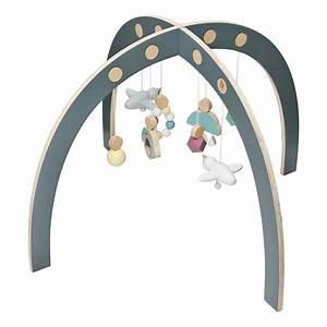 Arche Bébé Bois : arche d 39 veil en bois multicolore sebra jouet et loisir enfant ~ Teatrodelosmanantiales.com Idées de Décoration