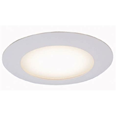 Shower Recessed Light - commercial electric 6 in white recessed shower trim