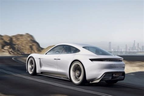 New Luxury Electric Car by Porsche Introduced New Electric Sports Car Concept