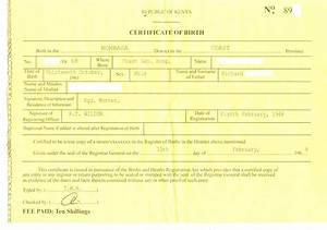 fake birth certificate template free download With fake birth certificate template free download