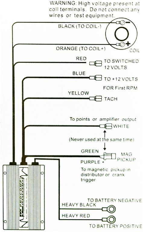Sbc Distributor Point Wiring Diagram Free by Procomp Pc6al 2 Multi Spark Cdi Ignition Box Free