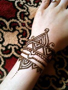 Henna Style Wrist Tattoo | Tattoo Ideas | Pinterest