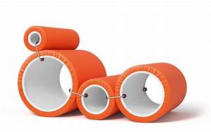 Cappellini Tube Chair By Joe Colombo