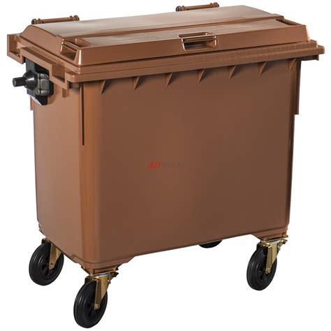 poubelle de tri selectif cuisine poubelle plastique à 660 litres