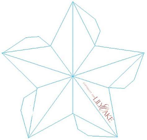 lilyoake 3d star ornament