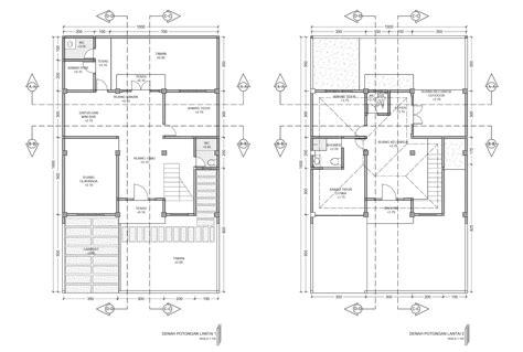 desain rumah minimalis format autocad kumpulan desain rumah
