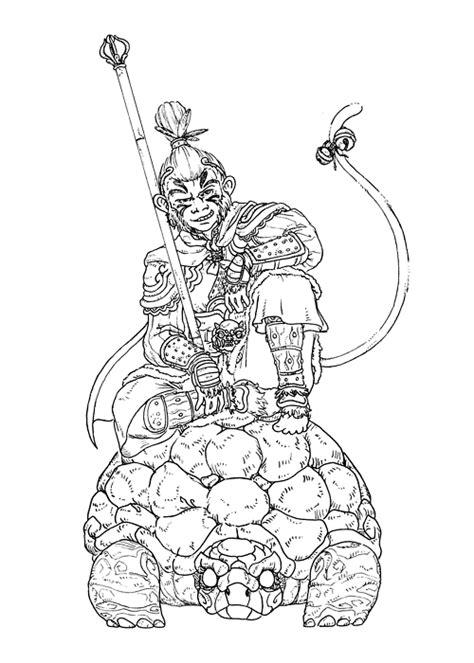 Sun Wukong | COISAS BONITA | Pinterest | Monkey king and
