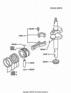 Kawasaki Fc150v Crankshaft