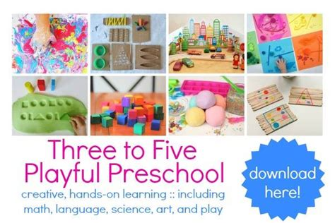 40 awesome preschool printables 668 | Three to Five Playful Preschool1