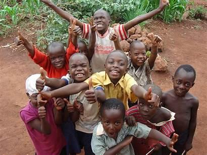 African Children Happy Help Choir