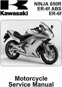 Kawasaki Ninja 650r Service Manual 2006 2008