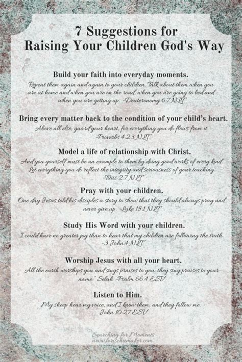 25 Best Ideas About Raising Godly Children On Pinterest