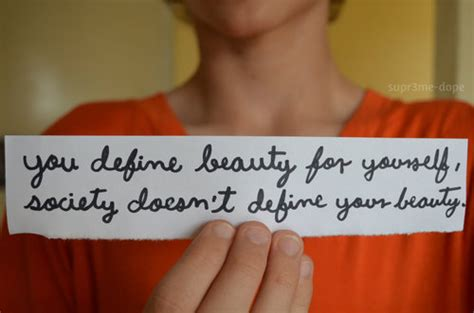 define beauty   society doesnt define yo