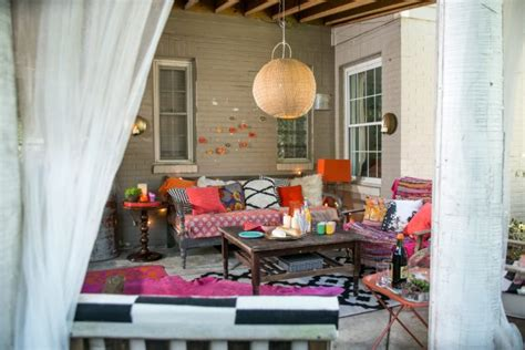 stunning eclectic patio designs