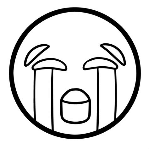 Emoji Free Colouring Pages