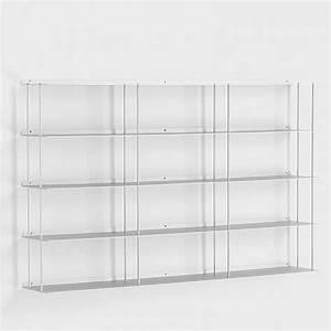 Regal 100 Cm : wand cd regal aluminium 100 x 60 cm ~ Markanthonyermac.com Haus und Dekorationen