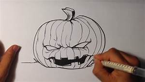 Drawing A Halloween Jack O Lantern Easy Pictures To Draw