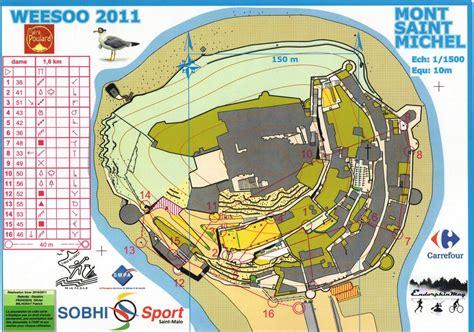 le mont michel carte carte mont st michel weesoo2011 circuitdame club rennais de course d orientation