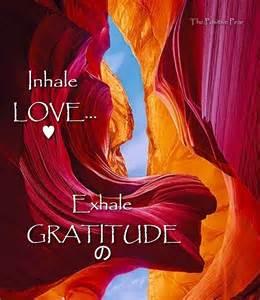 inhale exhale gratitude the positive pear