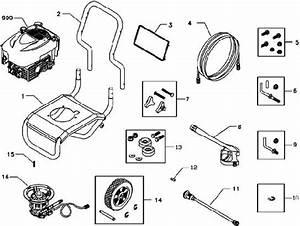 Sears  U0026 Craftsman Pressure Washer Model 580752300
