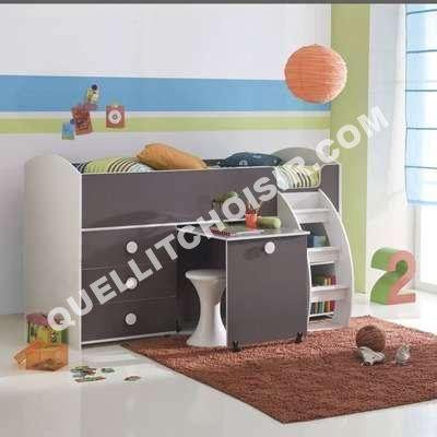lits superposes 3 suisses lit combin 233 bureau 3 suisses table de lit