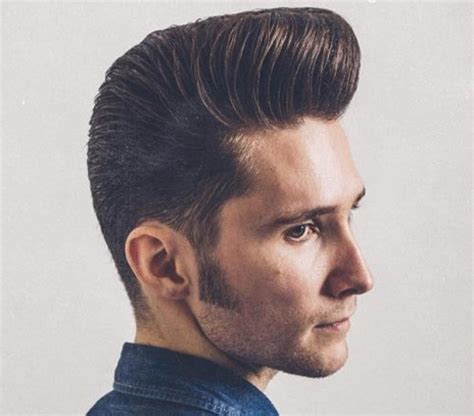 1940s Pompadour Hairstyle by 40 Pompadour Haircut Ideas For Modern Styling Guide