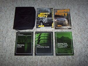 car engine manuals 2012 ford f series super duty electronic toll collection 2012 ford f 250 harley davidson super duty truck owner manual set xl xlt lariat ebay