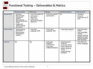fundamental aspects of functional testing With functional test plan template